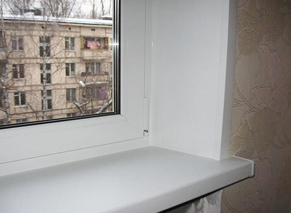 , Откосы на окна пвх