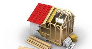 Схема дома в разрезе